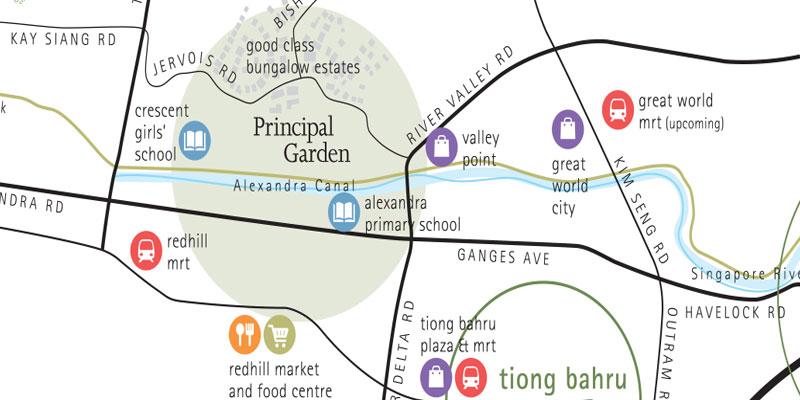 newlaunch.sg-pGarden-map